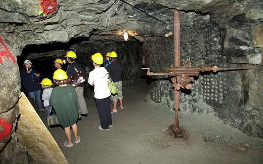 Guided Underground Tour